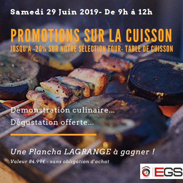 AFFICHE 29 06 2019 CUISSON